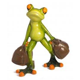 Frosch mit 2 Taschen