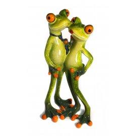 Frosch Paar stehend