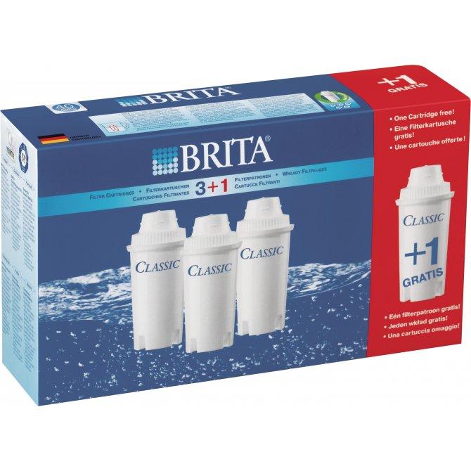Filterkartuschen Classic 3+1 Brita