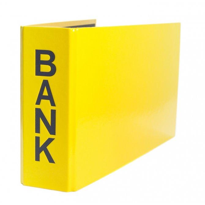 Bankordner 25x14cm Pagna