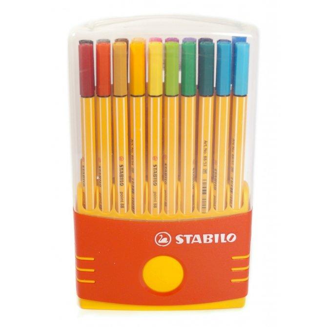 Fineliner Point 88 Box 20 Stifte