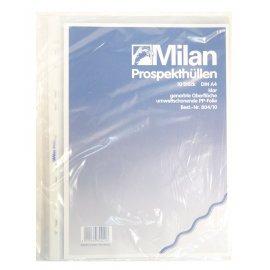 Prospekthülle A4 10er genarbt Milan