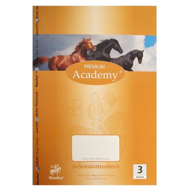 Arbeitsblätterblock 3 Academy