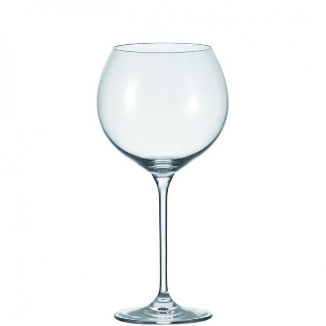 Burgunderglas Cheers