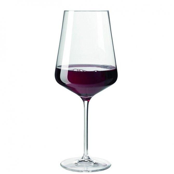 Rotweinglas Puccini