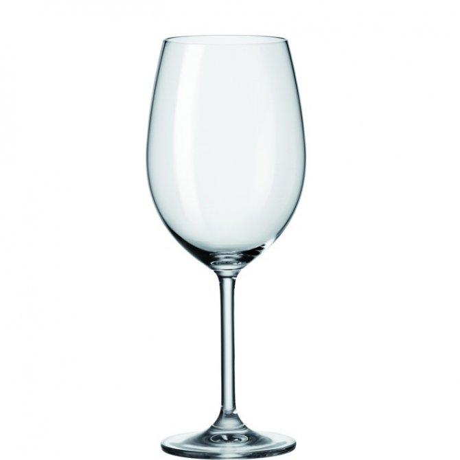 Bordeauxglas Daily