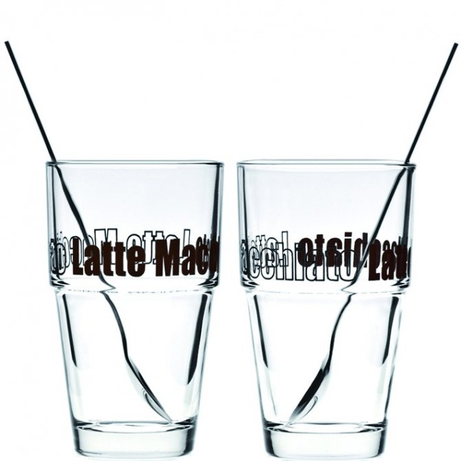 Latte Macchiato -Set 4tlg. Solo