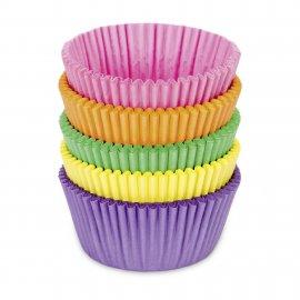 Papierbackförmchen Maxi farbig