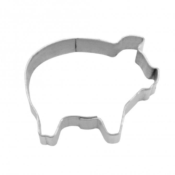 Ausstecher Schwein Mini