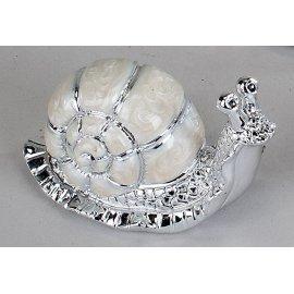 Schnecke Pearl-Silber