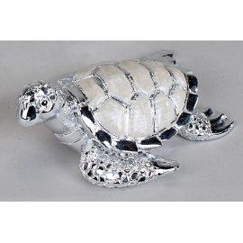 Schildkröte Pearl-Silber