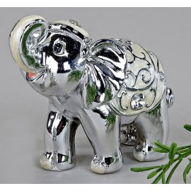 Elefant Pearl-Silber