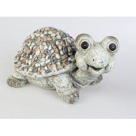Schildkröte 42cm Stones