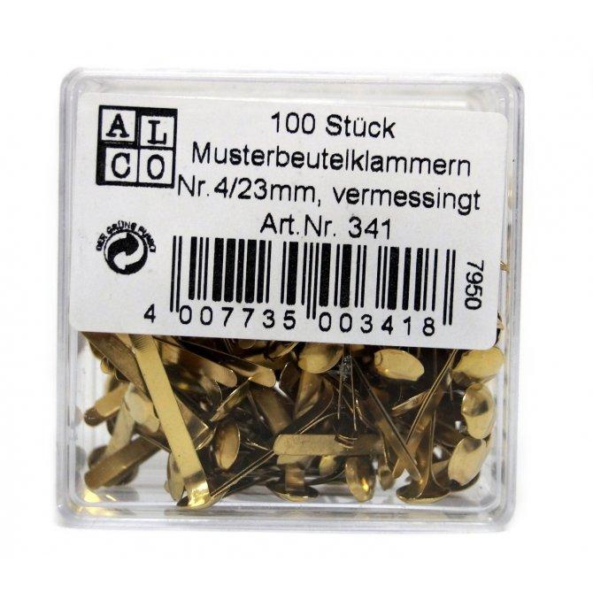 Musterbeutelklammer, 100er, 23mm