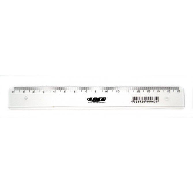 Lineal 16cm Laco