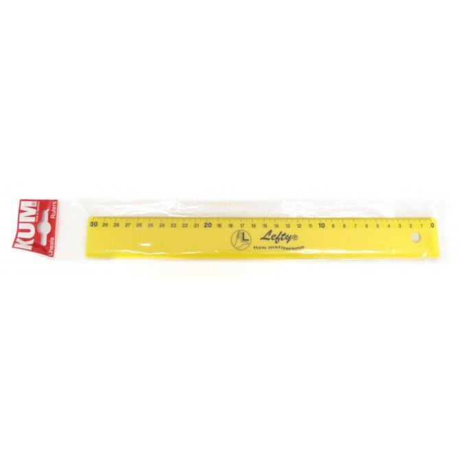 Lineal 30cm LEFTY Flexi