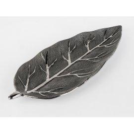 Dekoschale Baumstruktur silber
