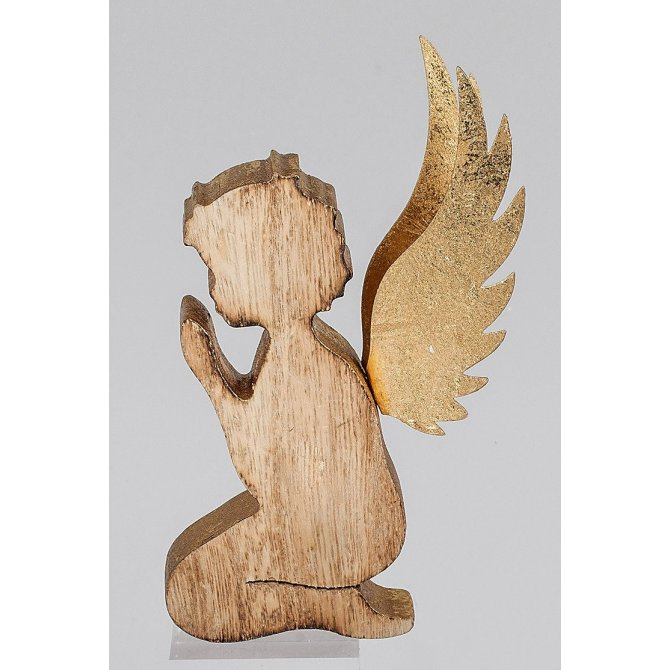 Engel aus holz betender engel holz engel aus holz selber for Engel basteln holz