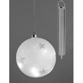 Kugel mit Stern LED