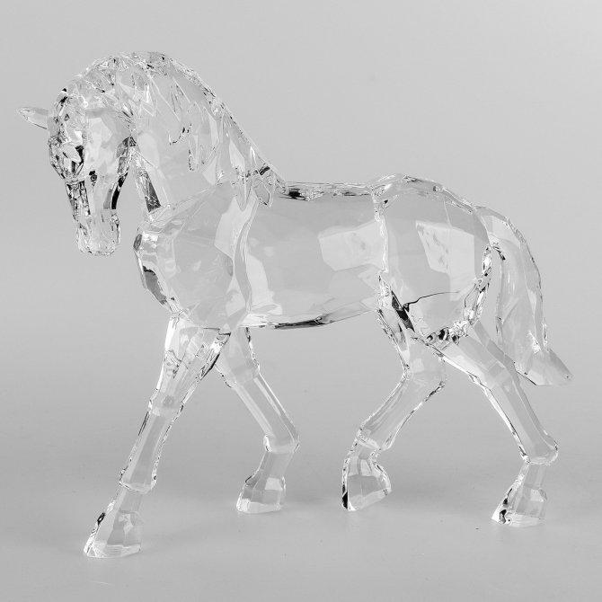 Pferd 19cm Acryl