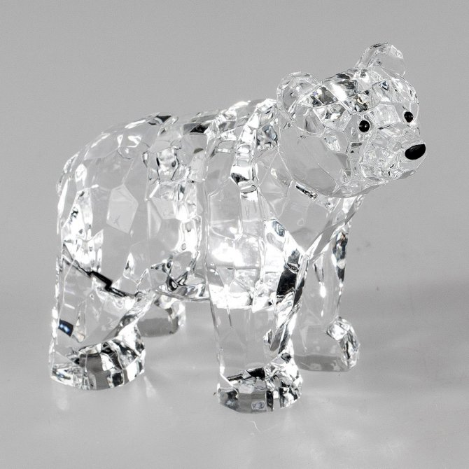 Eisbär 8cm Acryl