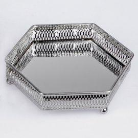 Tablett Spiegel eckig 22cm