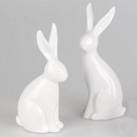 Hase Basic weiß 20cm