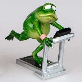 Frosch Rudi Laufband