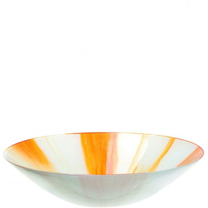 Schale 33 orange Arte