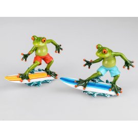 Frosch Surfer