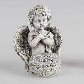 Engel 11cm Trauer - In stillem Gedenken
