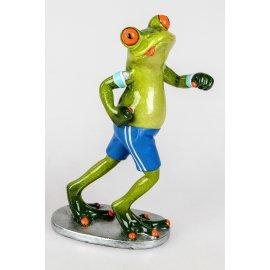 Frosch Jogger mit blauer Hose
