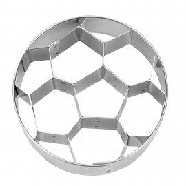 Prägeausstecher Fußball Edestahl 6cm