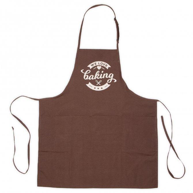 Backschürze we love baking