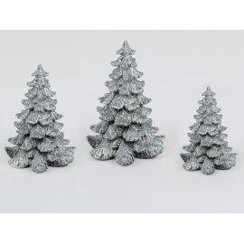Deko-Baum Antik-Silber