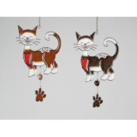 Hänger Katze 25cm Tiffany