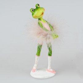 Ballett-Frosch Hände vorne