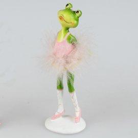 Ballett-Frosch Hände hinten