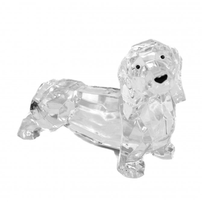 Hund 9cm Acryl