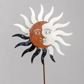 Stecker Sonne-Mond Edelstahl-Rost