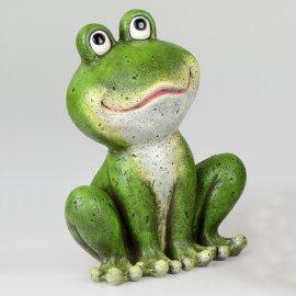 Frosch stehend grün-matt