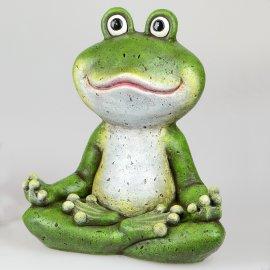 Frosch Yoga grün-matt
