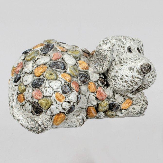 Hund 17cm Stones