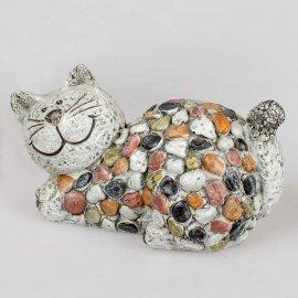 Katze 17cm Stones