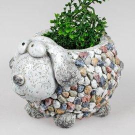 Pflanzgefäß Hund Stones