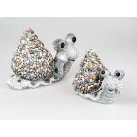 Schnecke mit spitzem Haus Stones