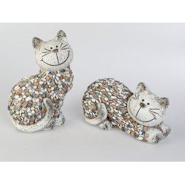 Katze 32cm Stones