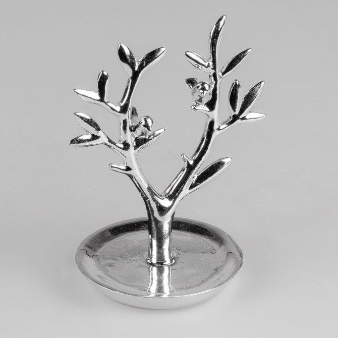 Ringbaum 15cm Silberglanz