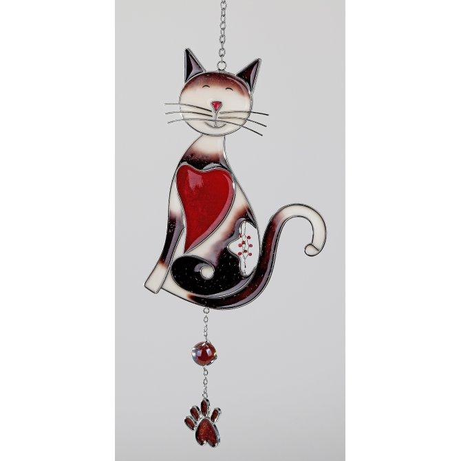 Hänger Katze 38cm Tiffany