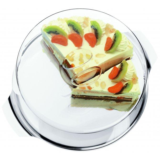 Tortenplatte mit Haube WMF